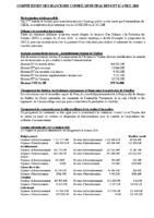 Conseil municipal du 9 et 12 avril 2018