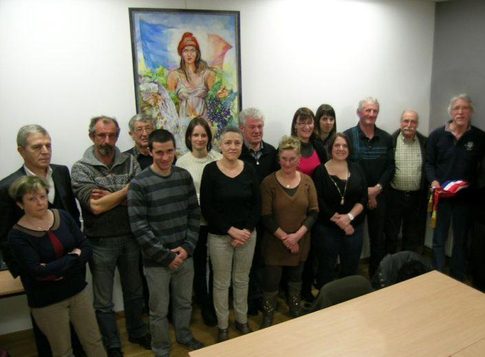 Les Membres du Conseil municipal