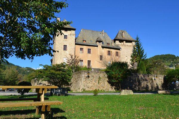 la château vu du confluent