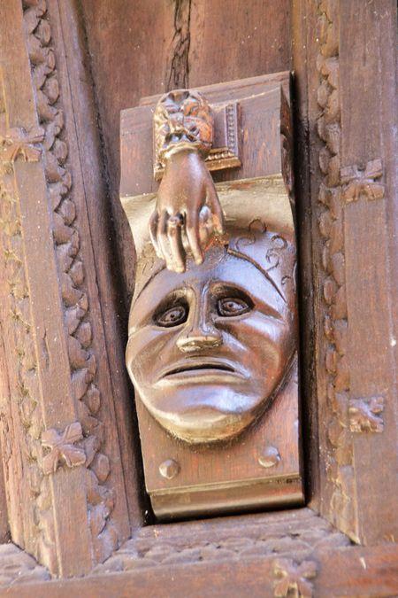 Heurtoir de la porte Valette