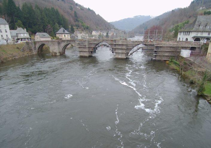 Travaux du Pont gothique