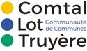 Logo de la communaute de communes comptal lot et truyère