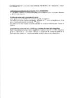 Conseil municipal du 7 mai 2018