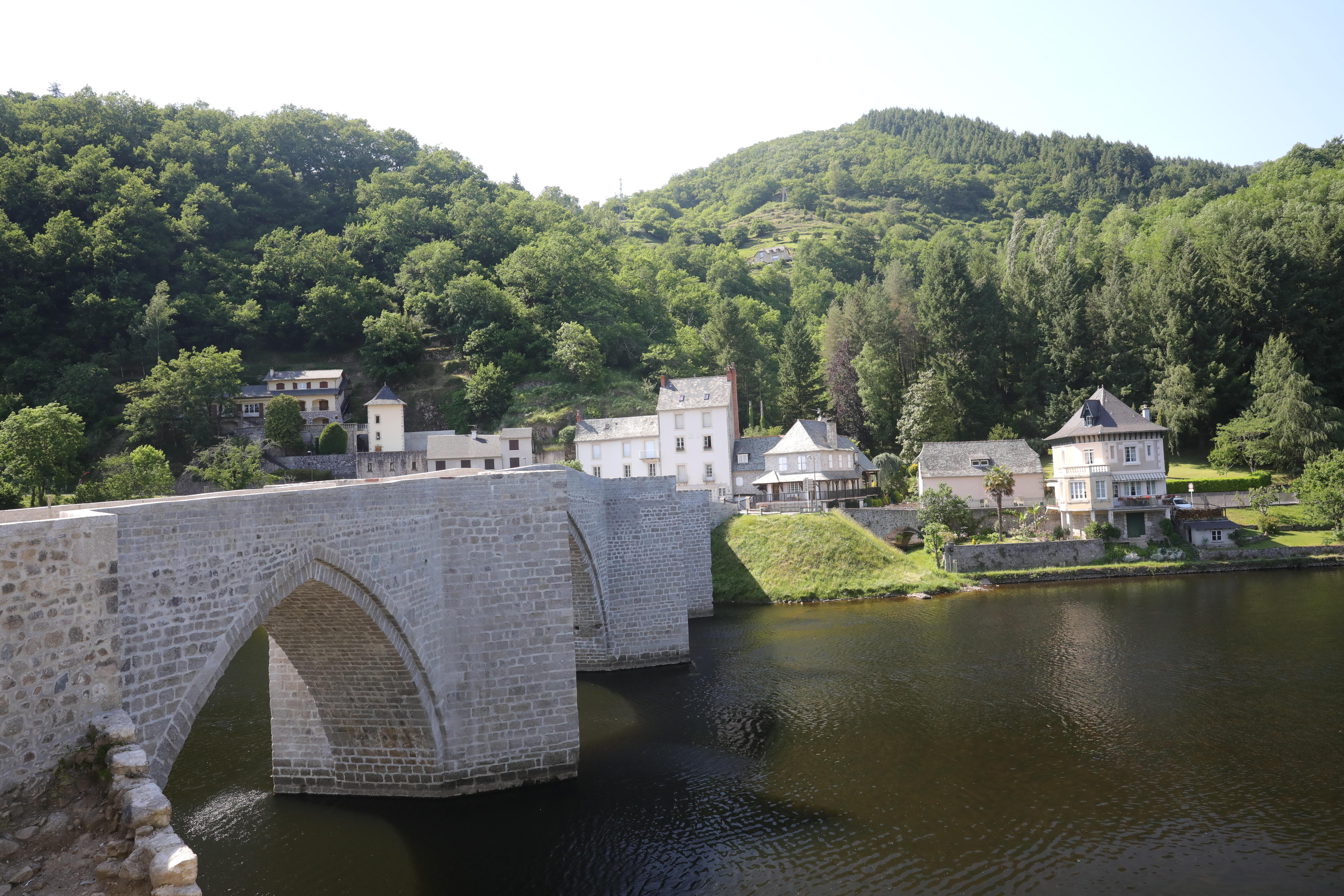 Pont de Truyère après restauration
