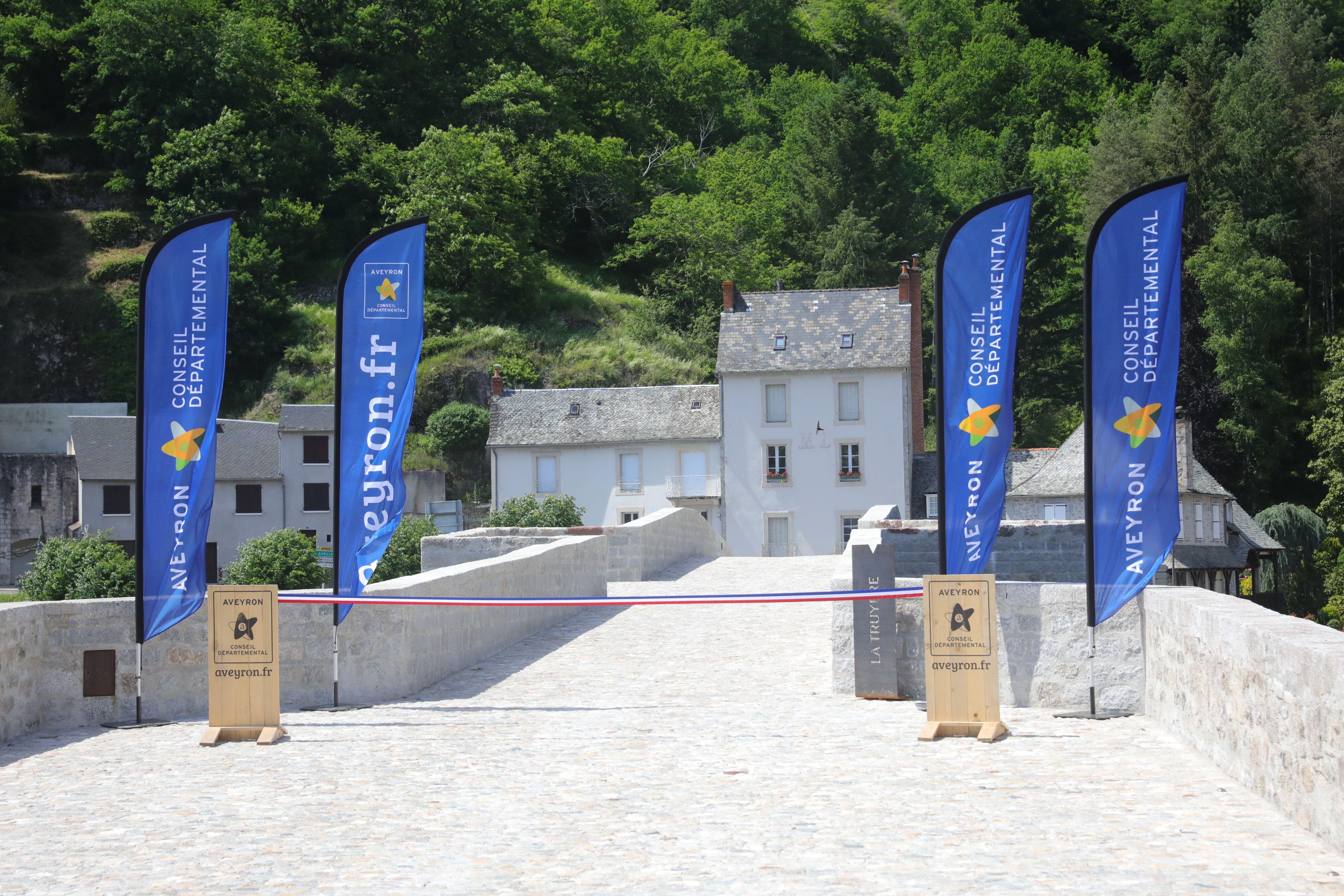 Inauguration du Pont de Truyère